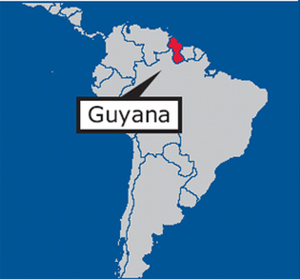 Where Is Guyana Located On The World Map.Did You Know Got Guyana
